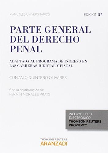 Descargar Libro Parte General Del Derecho Penal Fermín Morales Prats