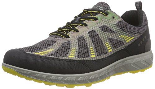 ECCO Terratrail Men's Scarpe Sportive Outdoor, Uomo, Multicolore(Black/Slate/Bamboo 59489), 48