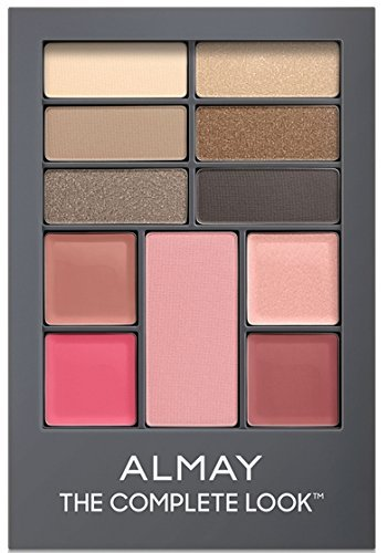 (Pack 2) Almay The Complete Look Palette, 100, Light/Medium