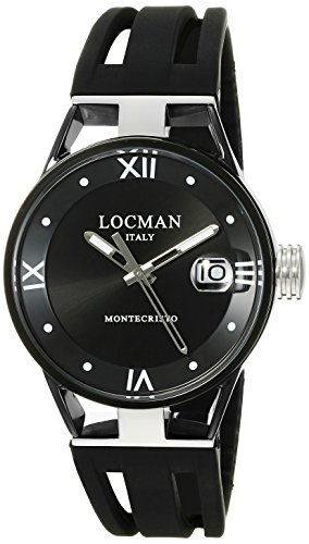 Locman Italy Women's 0521V05-GUBK00SK Montecristo Lady Analog Display Quartz Black Watch