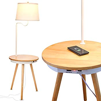Amazon Com Leick Mission Chairside Swing Arm Lamp Table