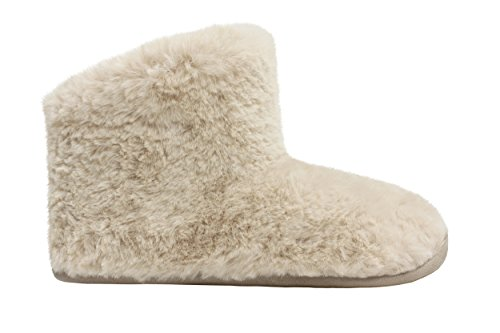 Ed Bas Natural Femme Boot Sheepy naturel Beige And Ruby Chaussons YTwgq5fE