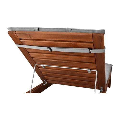 hållö - Tumbona Pad, Gris: IKEA of Sweden: Amazon.es: Hogar