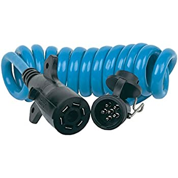 Amazon.com: Blue Ox BX88206 Coiled Cable with Female