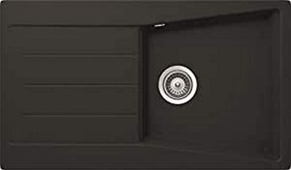 respekta SEATTLE100X50S Sink 100x50 cm Black