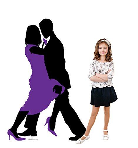 Ballroom Dancers Silhouette - Advanced Graphics Life Size Cardboard Standup by Advanced Graphics (Image #3)