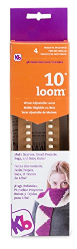 Authentic Knitting Board Loom, 10-Inch by Authentic Knitting Board