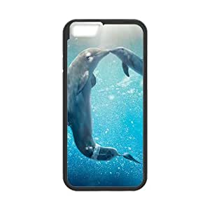 iPhone 6 Plus 5.5 Inch Cell Phone Case Black Dolphin BNY_6836503