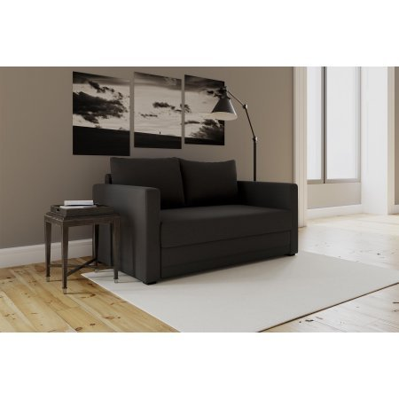 Amazon Com Modern Design Flip Sofa Sleeper Chair Black Kitchen