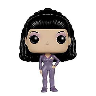 Funko POP TV: Star Trek The Next Generation - Deanna TROI Action Figure: Funko Pop! Television:: Toys & Games