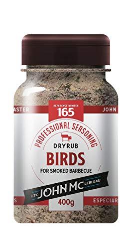 Dryrub Birds - DEFUMAÇÃO - Carne de Aves