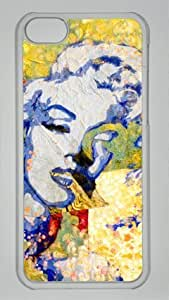 Customizablestyle Marilyn Monroe iphone 4/4s iphone 4/4s Case Hard Shell(pc Transparent)