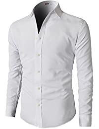 Mens White Button Down Shirt
