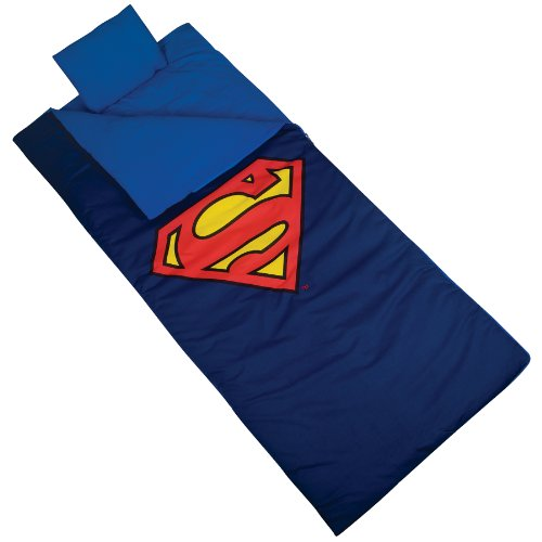 Wildkin Superman Shield Original Sleeping Bag (Superman Toys For 5 Year Old compare prices)