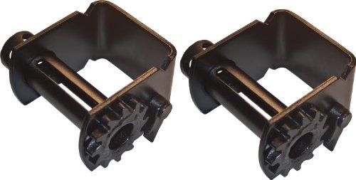 (2) Slider Winch Flatbed Truck Winch Strap Freightliner ()