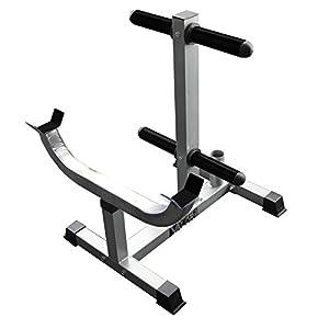 Valor Fitness CB 7 Curl Station Rack, Chrome