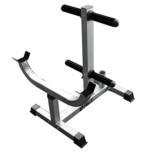 Valor Fitness CB-7 Curl Station Rack, Chrome by Valor Fitness