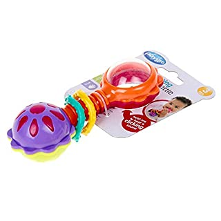 Playgro 418418 Baby Twisting Barbell Rattle for baby infant toddler children
