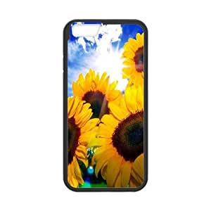 High Quality Phone Case For Apple Iphone 6 Plus 5.5 inch screen Cases -Sunflowers pattern-LiuWeiTing Store Case 1