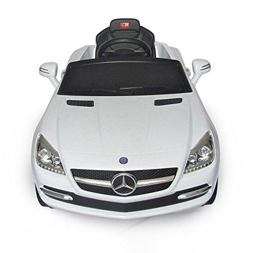 Mercedes-Benz SLK Kids 6v Electric Ride On Toy Car w/ Parent