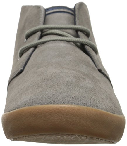 Fred Perry Mens Byron Mid Suede Chukka Boot Mid Grey DILJLrwIK