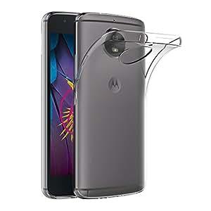 "Funda Moto G5S, AICEK Transparente Silicona Fundas para Motorola Moto G5S Carcasa Silicona Funda Case (5.2"")"