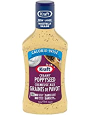 Kraft Calorie Wise Poppy Seed Dressing, 475mL (Pack of 10)
