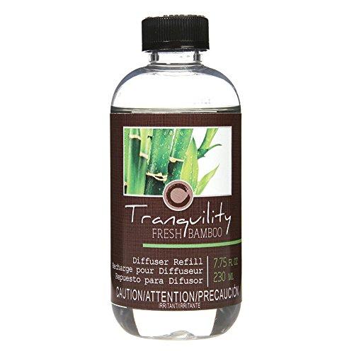 Hosley Aromatherapy Premium Fresh Bamboo Reed Diffuser Refills Oil, 230 ml (7.75 fl oz) Made in USA. Bulk Buy. Ideal Gift for Weddings, spa, Reiki, Meditation Settings