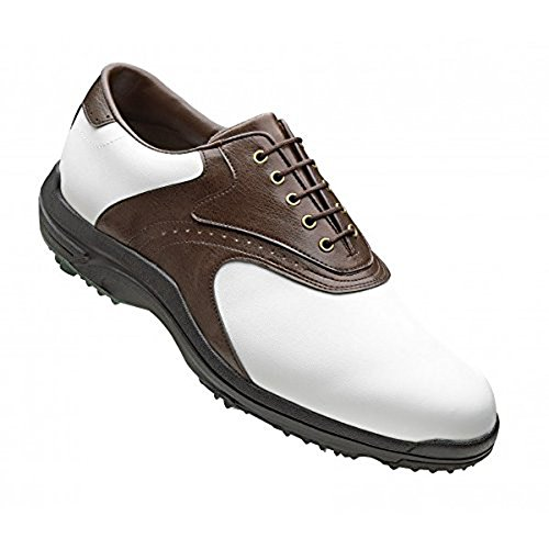 Footjoy White Medium Brown Shoes GreenJoys 11 rFqRrg