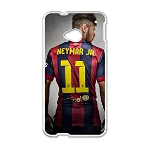 HTC One M7 Cell Phone Case White Neymar Nkcr