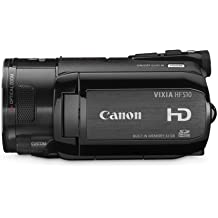 Canon VIXIA HFS10 HD Dual Flash Memory w/32GB Internal Memory & 10x Optical Zoom - 2009 MODEL (Discontinued by Manufacturer)