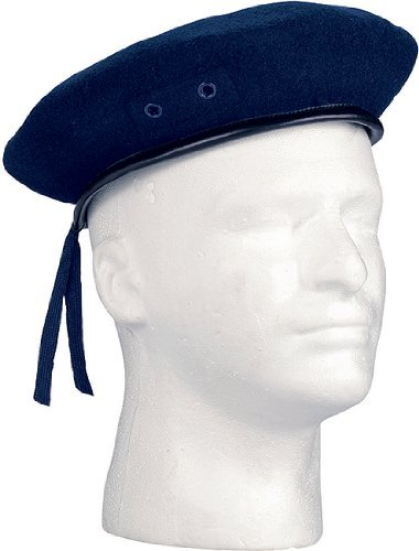 4916	Military Navy Blue Beret (Size 7) - Blue Beret Navy