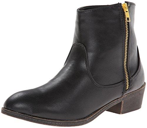 Diba Flicka Kvinna Tall Stads Boot Svart Läder