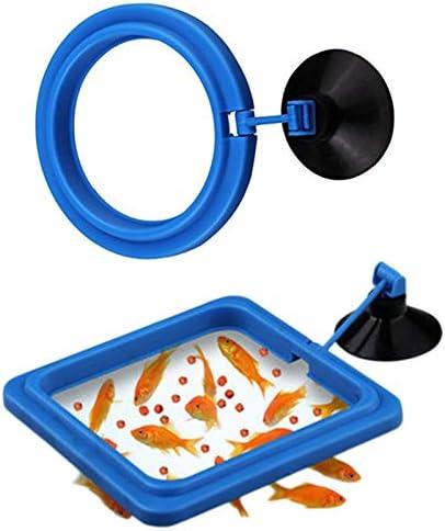 Anillo de alimentación de Peces para Guppy Goldfish 2