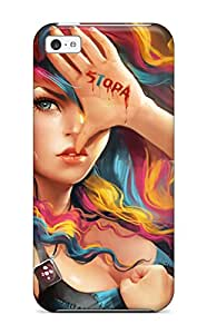 Shannon Morgan's Shop New Style Ultra Slim Fit Hard Case Cover Specially Made For Iphone 5c- Stop Sopa 9169815K99201803