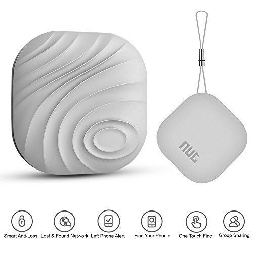 Luxsure Smart Tag Nut 3 Bluetooth Anti-lost Tracker Tracking Wallet Key Tracker Key Finder Alarm for iOS/ iPhone/ iPod/ iPad/ Android (Gray) (Find My Keys App compare prices)