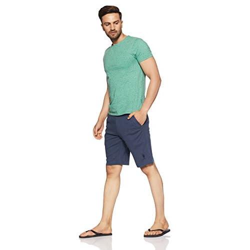 41Jn5Nu7ZxL. SS500  - US Polo Association Men's Cotton Lounge Shorts