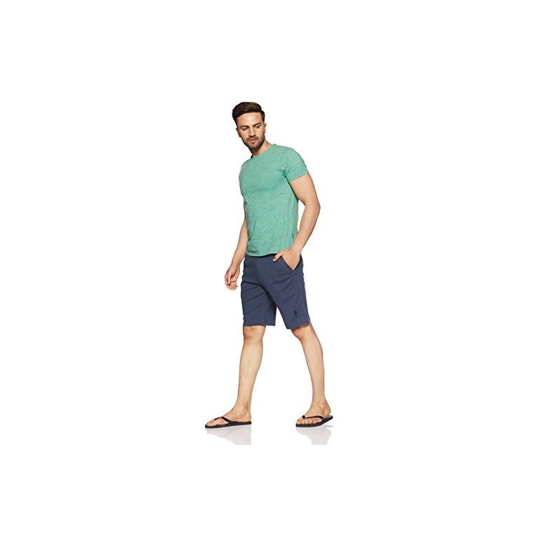 41Jn5Nu7ZxL. SS768  - US Polo Association Men's Cotton Lounge Shorts