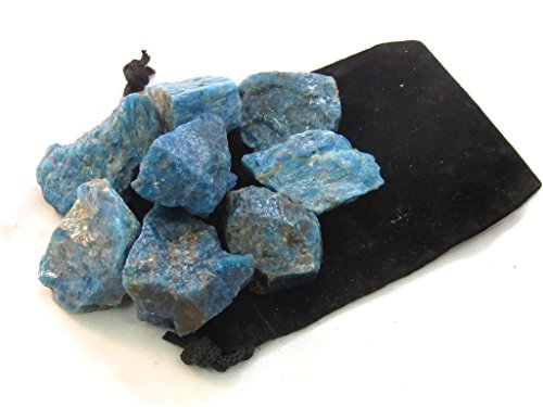 Apatite Natural - Zentron Crystal Collection: Blue Apatite Large 1