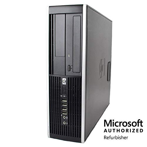 HP Elite Desktop Computer, Intel Core i5 3.1 GHz, 16 GB RAM, 1 TB HDD, DVD-RW, Windows 10 Professional, (Upgrades Available) (Renewed)