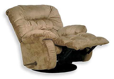 CATNAPPER 45175222029 Teddy Bear Saddle Chaise Swivel Glider Recliner (Catnapper Recliner Rocker)