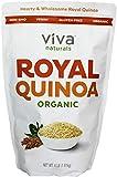 Viva Naturals Organic Quinoa, 4 LB Bag - The Finest 100% Royal Bolivian Whole Grain