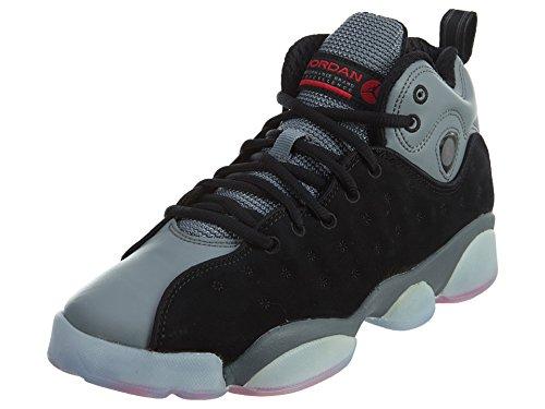 Jordan Kids Jumpman Team Ii Scarpe Da Basket Nero / Infrarosso 23-cool Grigio-infrarosso 23