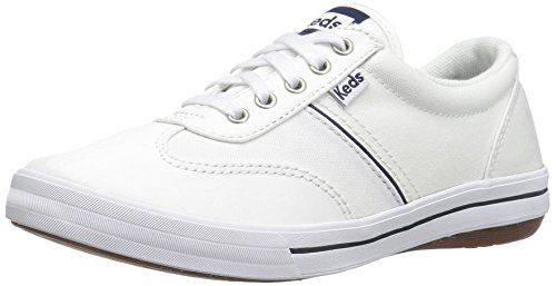 Keds Women's Craze Ii Canvas Fashion Sneaker, White, 8 W US