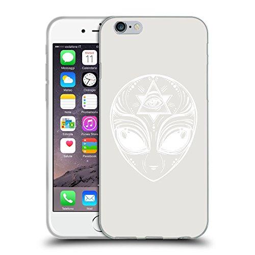 "GoGoMobile Coque de Protection TPU Silicone Case pour // Q09010631 extraterrestre 2 Platine // Apple iPhone 6 4.7"""