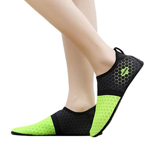 Shoes Con Da Profondo Per Aqua Verde Quick Beach Water Coulisse Immersione Swim Couple Acquascivolo Summer Scollo Dry Scarpa Innerternet XPqg1w