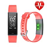 Fitness Tracker HR, Letsfit Activity Tracker with Heart Rate Monitor Watch, IP67 Waterproof Smart Band with Step Counter Pedometer Watch for Kids Women Men