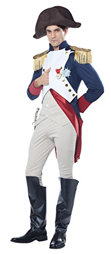 California Costumes Men's Napoleon French Emperor Costume, Multi, Large