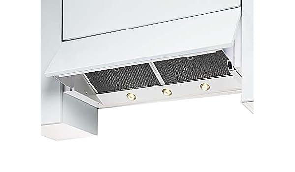 Wesco: empotrable Campana evm 25-82(820mm) Blanco: Amazon.es: Grandes electrodomésticos