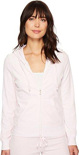 Juicy Couture Women's Robertson Velour Jacket Peek-A-Boo X-Large